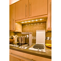 Maxim Lighting CounterMax MX-L 4 Light Under Cabinet Kit in Satin Aluminum 87904SA alternative photo thumbnail