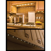 Maxim Lighting CounterMax MX-L 6 Light Under Cabinet Kit in Metallic Bronze 87906MB
