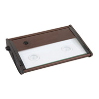 Maxim Lighting CounterMax MX-L120D 2 Light Under Cabinet in Metallic Bronze 87962MB photo thumbnail