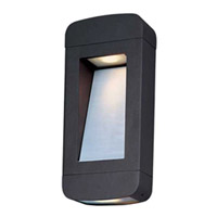 Maxim Lighting Optic LED 2 Light Outdoor Wall Mount in Architectural Bronze 88252ABZ