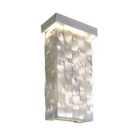 Maxim Lighting Mosaic LED Wall Sconce in Brushed Aluminum 88283AL