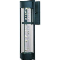 New Age LED LED 20 inch Texture Ebony Outdoor Wall Mount