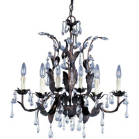 Maxim 8835OI Grove 6 Light 27 inch Oil Rubbed Bronze Single Tier Chandelier Ceiling Light