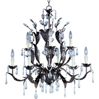 Maxim Lighting Grove 9 Light Multi-Tier Chandelier in Oil Rubbed Bronze 8836OI