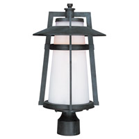 Maxim Lighting Calistoga LED 1 Light Outdoor Pole/Post Mount in Adobe 88530SWAE