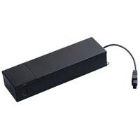 Maxim 89818BK CounterMax MX-L-24-SS Black Under Cabinet Accessory