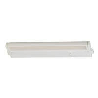Maxim 89893WT CounterMax MX-L-120-3K Basic 120V LED 12 inch White Under Cabinet