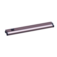 Maxim 89894BZ CounterMax MX-L-120-3K Basic 120V LED 18 inch Bronze Under Cabinet