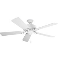 Maxim Lighting Basic-Max Indoor Ceiling Fan in Matte White (Light Kit Not Included) 89905MW