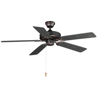 Basic-Max 52 inch Oil Rubbed Bronze Outdoor Ceiling Fan