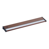 Maxim Lighting CounterMax MX-L120DC 6 Light Under Cabinet in Metallic Bronze 89924MB