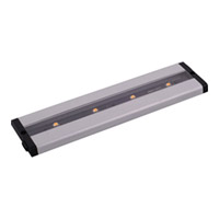 CounterMax LED 12 inch Brushed Aluminum Under Cabinet