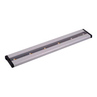 Maxim Lighting CounterMax 6 Light Under Cabinet in Brushed Aluminum 89942AL