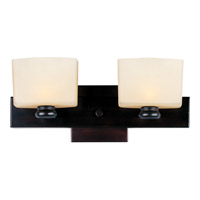 Maxim 9002DWOI Essence 2 Light 15 inch Oil Rubbed Bronze Bath Light Wall Light