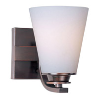 Maxim Lighting Conical 1 Light Bath Vanity in Oil Rubbed Bronze 9011SWOI photo thumbnail