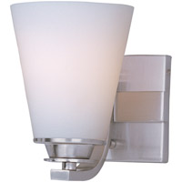 Maxim 9011SWSN Conical 1 Light 4 inch Satin Nickel Bath Light Wall Light in 4.25 in.