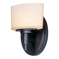 Maxim Lighting Lola 1 Light Wall Sconce in Oil Rubbed Bronze 9021DWOI