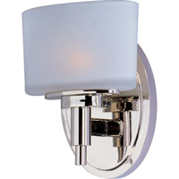 Maxim Lighting Lola 1 Light Wall Sconce in Polished Nickel 9021SWPN