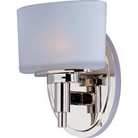Maxim 9021SWPN Lola 1 Light 6 inch Polished Nickel ADA Wall Sconce Wall Light