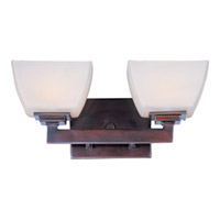 Maxim Lighting Angle 2 Light Bath Light in Oil Rubbed Bronze 9032SWOI photo thumbnail