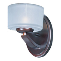Maxim Lighting Elle 1 Light Wall Sconce in Oil Rubbed Bronze 9041FTOI photo thumbnail