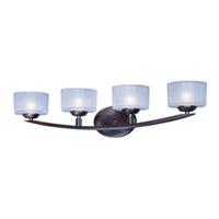 Maxim Lighting Elle 4 Light Bath Light in Oil Rubbed Bronze 9044FTOI photo thumbnail