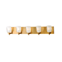 Maxim 9045CIGO Bravado LED 33 inch Golden Bronze Bath Vanity Wall Light