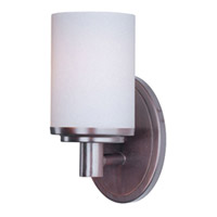 Maxim Lighting Cylinder 1 Light Bath Vanity in Oil Rubbed Bronze 9051SWOI photo thumbnail