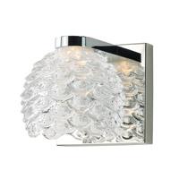 Maxim 9061CWPC Fringe LED 5 inch Polished Chrome Wall Sconce Wall Light