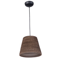 Maxim Lighting Java 1 Light Pendant in Black 9101JVBK