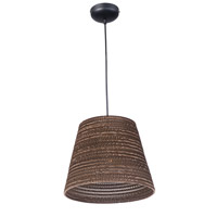 Maxim Lighting Java 1 Light Pendant in Black 9102JVBK