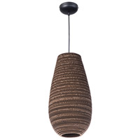 Maxim Lighting Java 1 Light Pendant in Black 9103JVBK