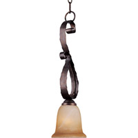 Maxim Lighting Aspen 1 Light Mini Pendant in Oil Rubbed Bronze 91044VAOI