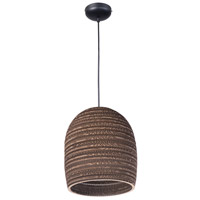 Maxim 9104JVBK Java 1 Light 11 inch Black Pendant Ceiling Light