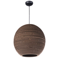 Maxim Lighting Java 1 Light Pendant in Black 9106JVBK