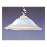 Maxim Lighting Signature 1 Light Pendant in Navaho White 91070FTNW