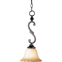 Maxim 93505WSOI Allentown 1 Light 8 inch Oil Rubbed Bronze Mini Pendant Ceiling Light