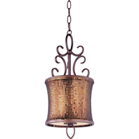Maxim Lighting Alexander 1 Light Mini Pendant in Umber Bronze 94160SBUB