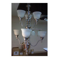 Maxim Lighting Signature Multi-Tier Chandelier in Satin Nickel 990044SVSN
