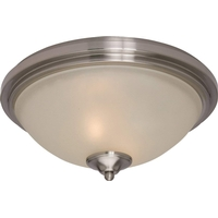 Maxim 990378SVSN Soho Satin Nickel Flush Mount Ceiling Light