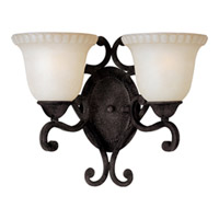 Maxim Lighting Beaumont 2 Light Wall Sconce in Golden Fawn 991613 photo thumbnail