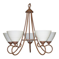 Signature Country Stone Chandelier Ceiling Light