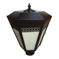 Maxim Lighting Signature Outdoor Pole/Post Lantern in Platinum 99946PL photo thumbnail