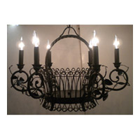 Maxim Lighting Signature Chandelier in Black 99971BK