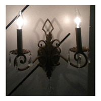 Maxim Lighting Signature Wall Sconce in Etruscan Gold 99977EG