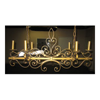 Maxim Lighting Signature Island Pendant in Etruscan Gold 99978EG