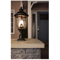 Maxim 3422WGOB Carriage House DC 2 Light 16 inch Oriental Bronze Outdoor Wall Mount  alternative photo thumbnail