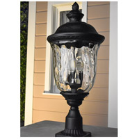 Maxim 40423WGOB Carriage House VX 2 Light 20 inch Oriental Bronze Outdoor Wall Mount alternative photo thumbnail