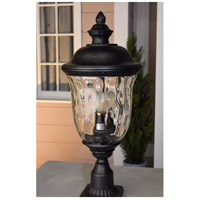 Maxim 3427WGOB Carriage House DC 3 Light 13 inch Oriental Bronze Outdoor Hanging Lantern alternative photo thumbnail