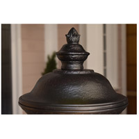 Maxim 3497WGOB Carriage House DC 3 Light 27 inch Oriental Bronze Outdoor Wall Mount alternative photo thumbnail